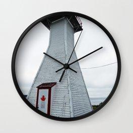 Antique Range Light - Lighthouse Wall Clock