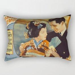 Madame Butterfly Movie Print Rectangular Pillow