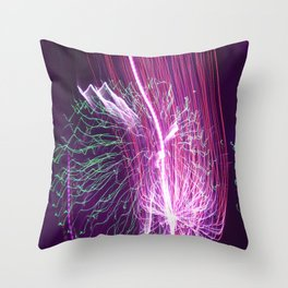 The Light Show Throw Pillow