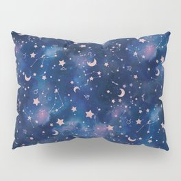 Zodiac - Watercolor Pillow Sham