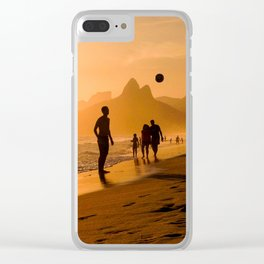 Footvoley Clear iPhone Case