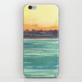 Cresent Bay Sunset iPhone Skin