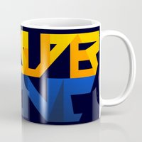 sonic Mugs featuring Super Sonic by Zaukhes