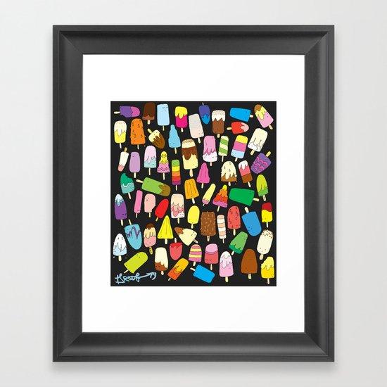 LOLLIES! Framed Art Print