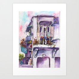20140109 Seng Poh Lane, Tiong Bahru Art Print