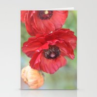 ruby Stationery Cards featuring Ruby by Lisa Argyropoulos