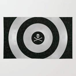 Silver Target Rug