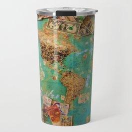 Risk Travel Map (Color) Travel Mug