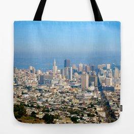 Twin Peaks, San Francisco Tote Bag