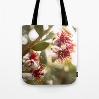 botanical Tote Bags featuring Botanical  by dibec