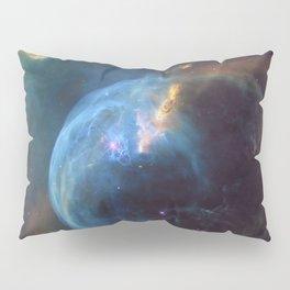 Bubble Nebula In Space Pillow Sham