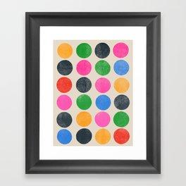 colorplay 3 Framed Art Print
