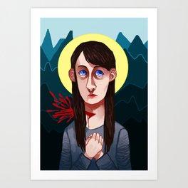 Abigail Hobbs Art Print