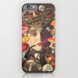 Mushroom Head iPhone Case