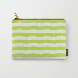 Lime Green Wavy Carry-All Pouch