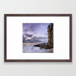 Victoria Beach Framed Art Print
