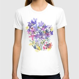 Little Fairy Field Flowers T-shirt