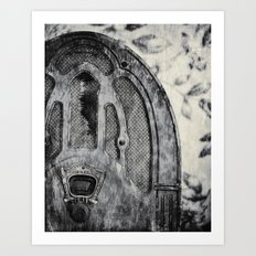 Dead Radio (ANALOG zine) Art Print