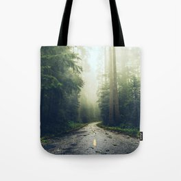 Redwood Forest Adventure - Nature Photography Tote Bag