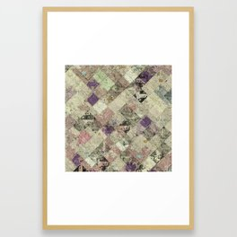 Abstract Geometric Background #25 Framed Art Print