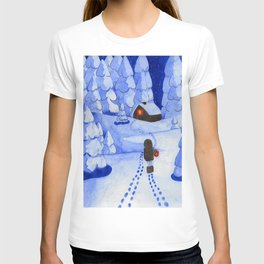 Following traces T-shirt