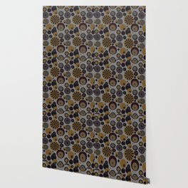 Circle Frenzy - Grey Wallpaper