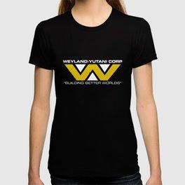 Weyland-Yutani Corp Mens Science Fiction Retro Alien Sci Science T-Shirts T-shirt