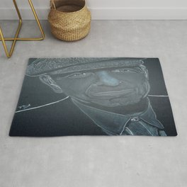 Leonard Cohen Rug
