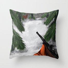 The Aim - Deer Quest Throw Pillow