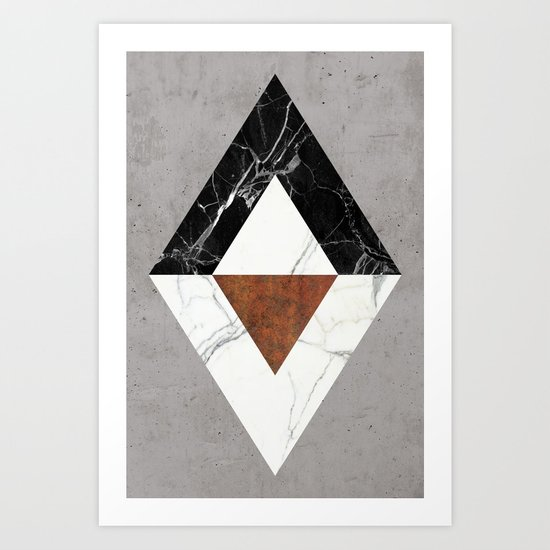 Marble Abstract Art Print