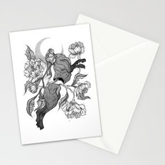 uncontrollable nature Stationery Cards