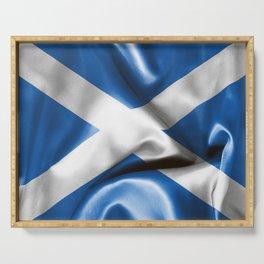 Scottish Flag Serving Tray