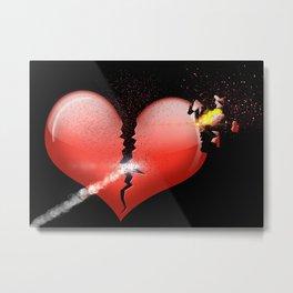 Heartbomb Metal Print
