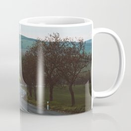 Along a rural road - Landscape and Nature Photography Coffee Mug