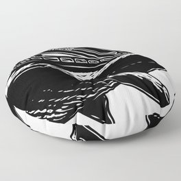 Ocean Hauler Floor Pillow
