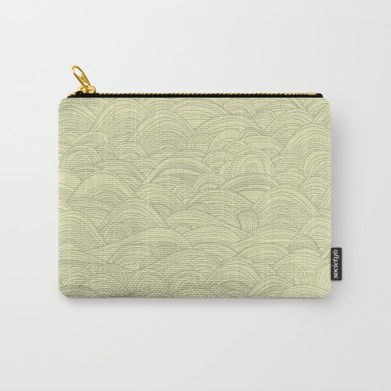 just waves natural Carry-All Pouch