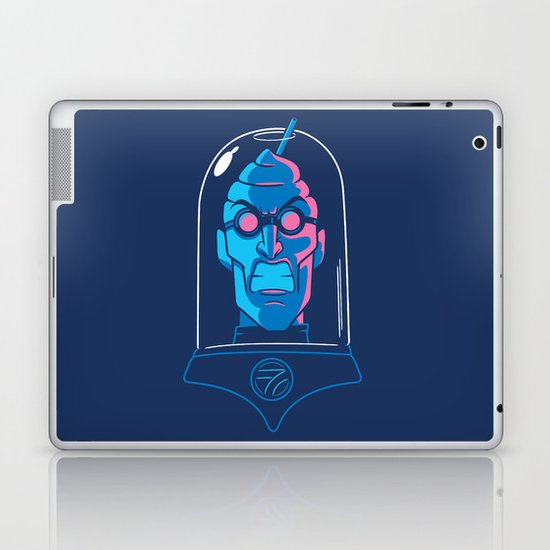 Mr. Brain Freeze Laptop & iPad Skin