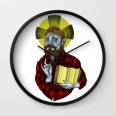 The Saint Wall Clock