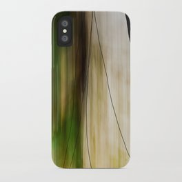 Forest, Water, Lines iPhone Case