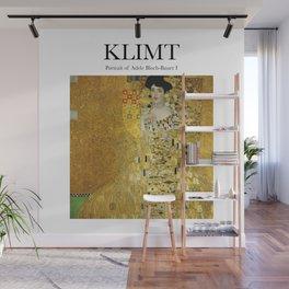 Klimt - Portrait Wall Mural
