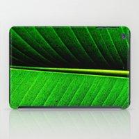 leaf iPad Cases featuring Leaf by Melanie Ann