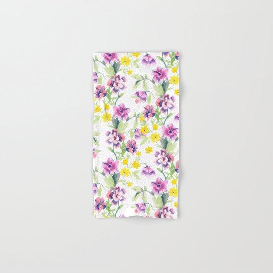 Garden Journal Hand & Bath Towel