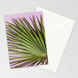 Palm on Lavender Stationery Cards
