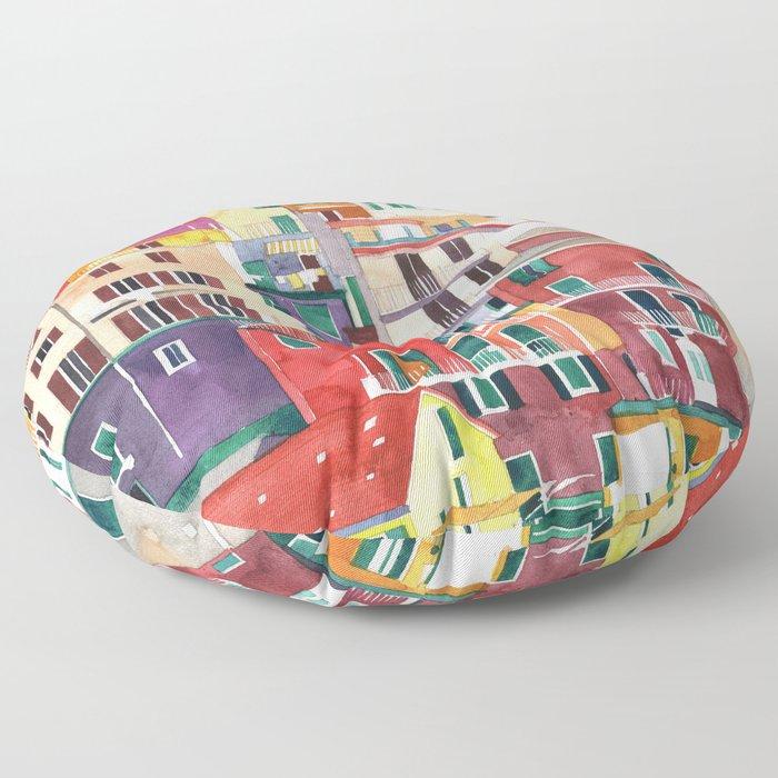 Cinque Terre Floor Pillow