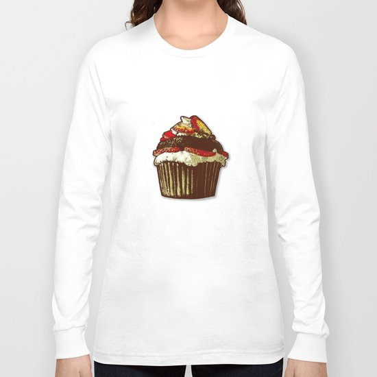 strawberry cake Long Sleeve T-shirt