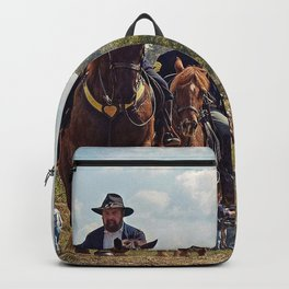 Weary Union Soldiers Backpack