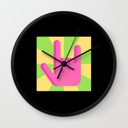 Rock And Roll Wall Clock