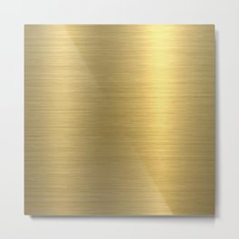 gold home decor Metal Print