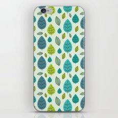 Trees pattern iPhone & iPod Skin