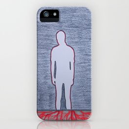 WHO AM I iPhone Case